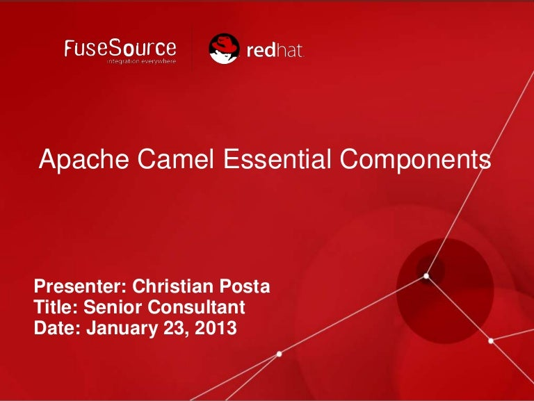Essential Camel Components