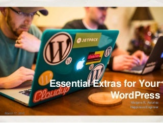 Essential extras for your word press