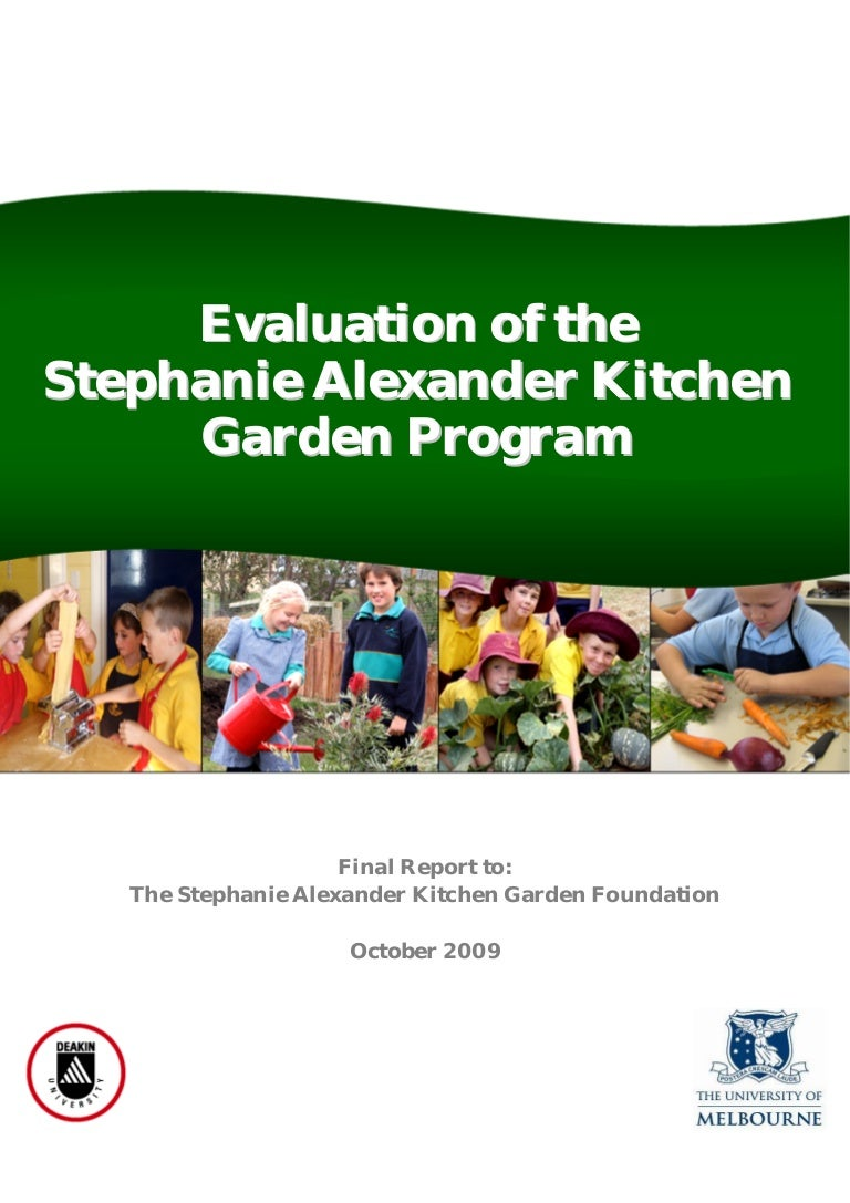 Stephanie Alexander Kitchen Garden National Program Stephanie Alexander Kitchen Garden Program