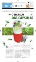 Estado de Minas, caderno Bem Viver: Nutracêuticos (parte 1)