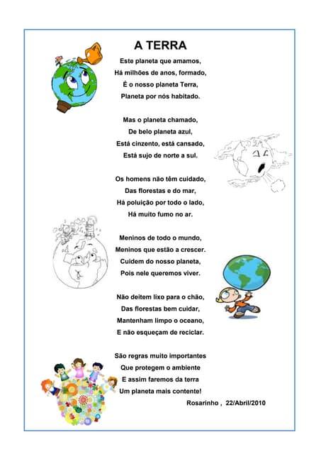Poema Medio Ambiente