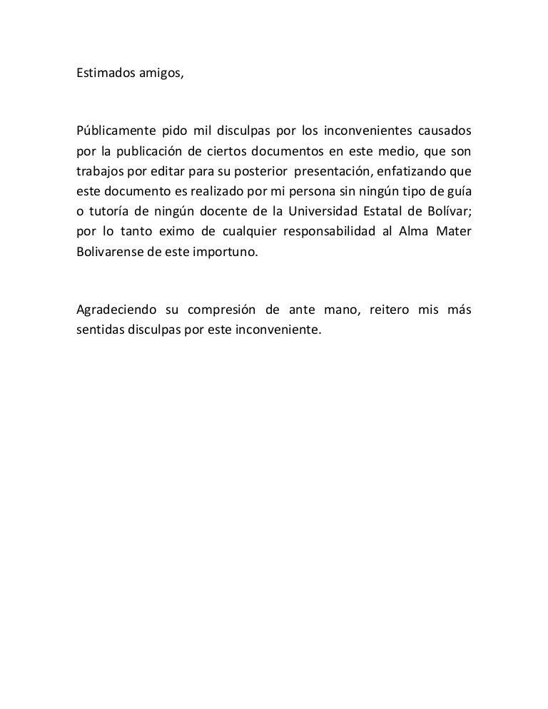 carta de aclaraci u00f3n