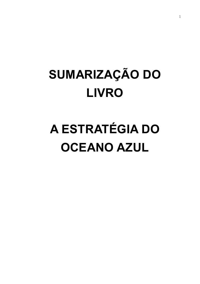ad38e3c59a928 Estratégia do oceano azul