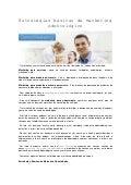 Estratégias básicas de marketing odontológico