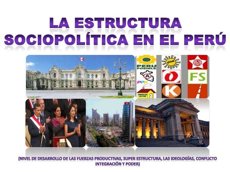 Estructura Sociopolítica En El Perú Final Diapositivas
