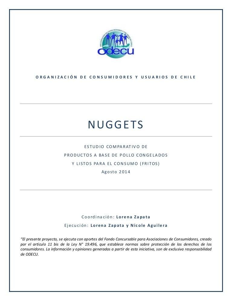 Estudio de nuggets
