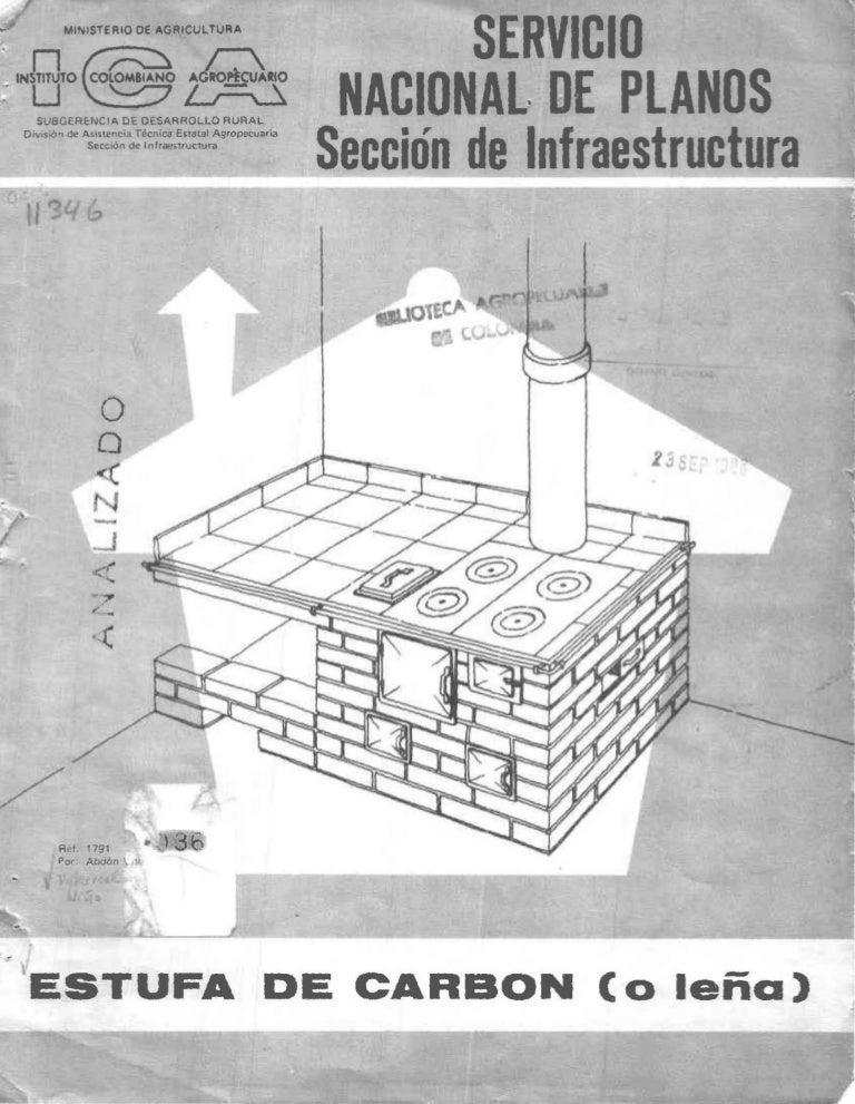 Manual construccion estufa for Medidas de hornos pequenos