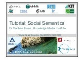 Tutorial: Social Semantics