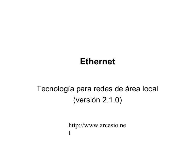 Ethernet tutorial