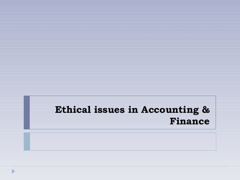 ethical issues in healthcare finance In the wake of the financial crisis, enterprise risk management is a rapidly evolving discipline that places ethical values at the heart of good governance, enterprise risk management and compliance.