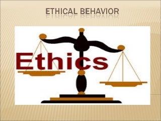 Ethical Behaviour | LinkedIn
