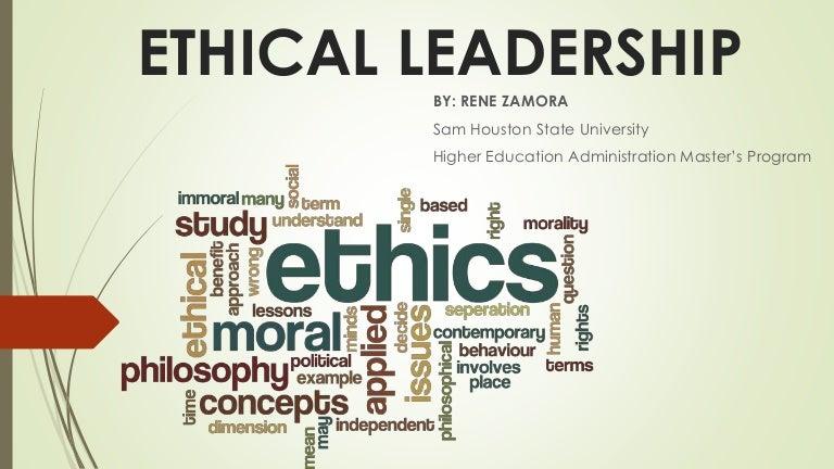 Ethical leadership