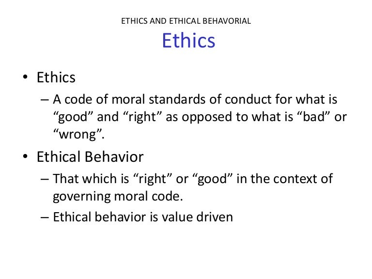 ethical code of conduct listing the rules and principles that your company will use in decision maki 24042008  draft an ethical code of conduct listing the rules and principles that your company will use in decisionmaking.