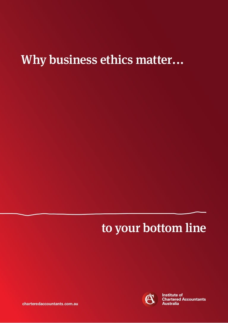 business ethics and corporate governance white paper