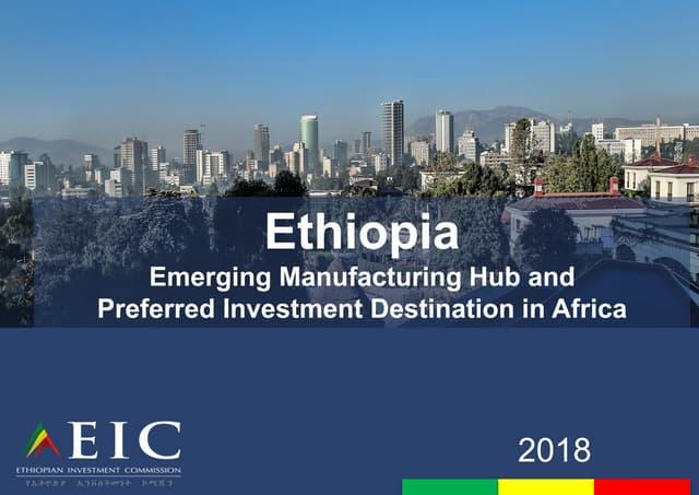 Africa Singapore Business Forum 2018   Ethiopia
