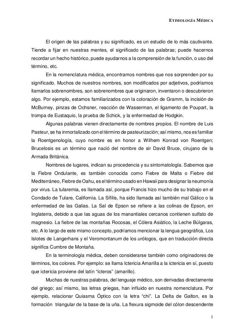 Etimologia Médica Etimologiamedica  Phpapp Thumbnail  Etimologia Medica