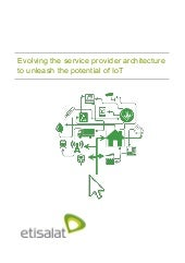 Evolving the service provider architecture to unleash the potential of IoT - Etilasat