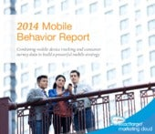 Salesforce / Etmc: 2014 US mobile behavior report July 2014