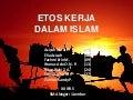 Etos Kerja dalam Islam (full)
