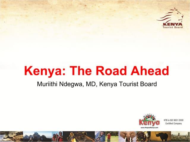 Kenya Tourist Board 2012
