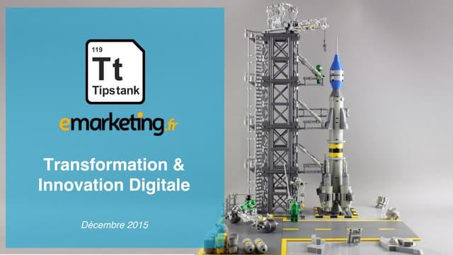 Etude Tips tank transformation et innovation digitale des entreprises