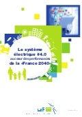 """Système électrique #4.0 au coeur des performance de la """"France 2040"""""""