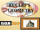 Euclid's geometry
