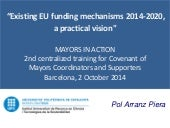 Eu funding mechanisms Arranz