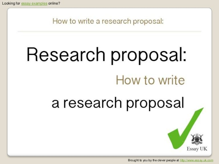 Research Proposal: Draft 1