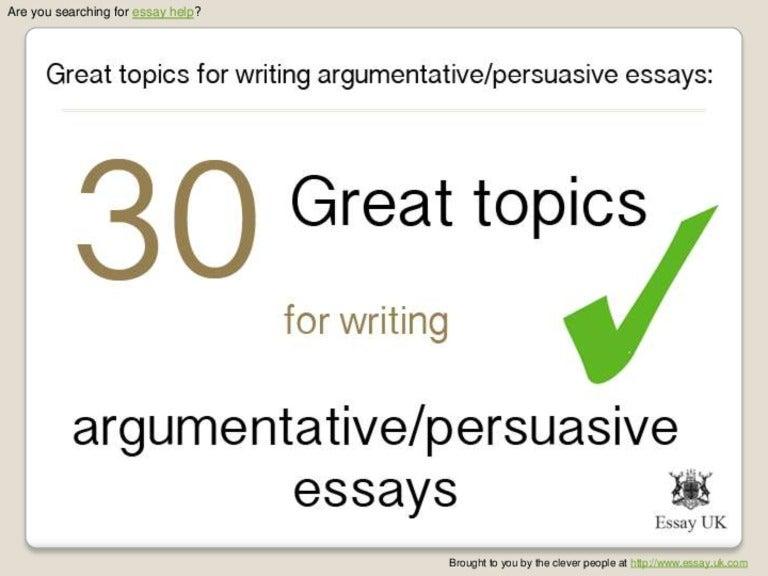 argumentative essay topics 6th grade