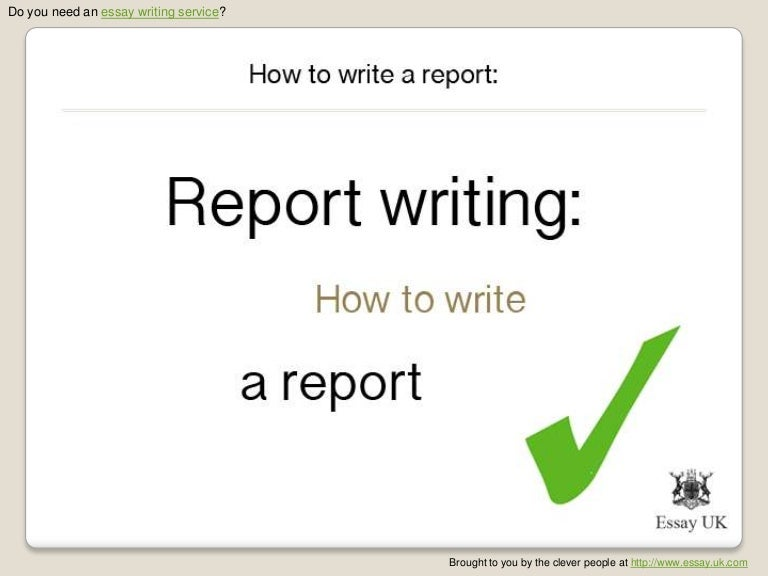 essay writing service writing reports how to write a report