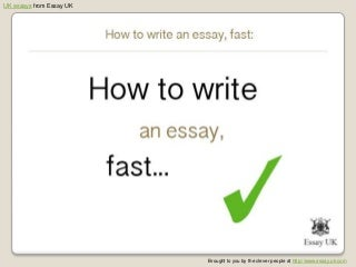 Buy Essay: UK Essay Writing Service Online