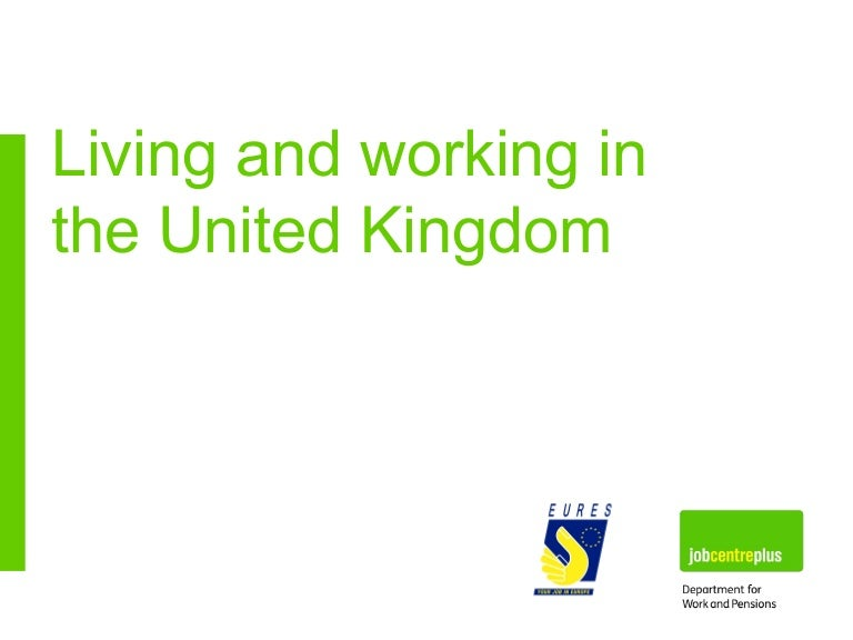 Living and working in uk presented by eures yelopaper Choice Image