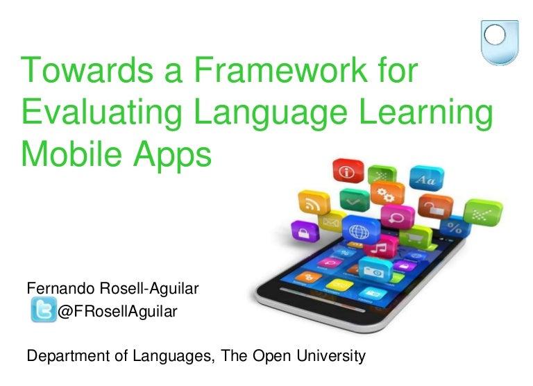 Towards a Framework for Evaluating Language Learning