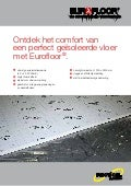 Recticel Insulation - Eurofloor productflyer