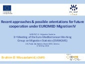 EUROMED Migration IV: Approaches & possibilities for future collaboration