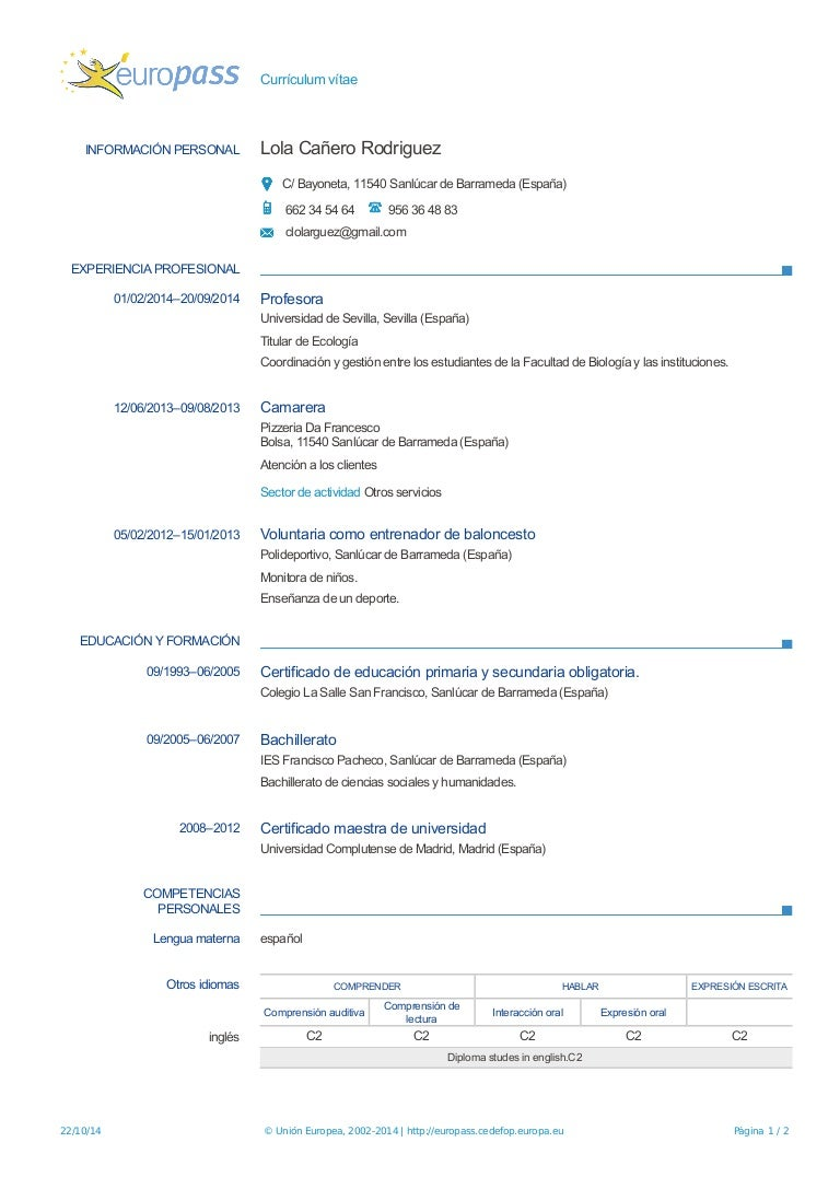 Moderno Camarero En Currículum Bosquejo - Ejemplo De Colección De ...