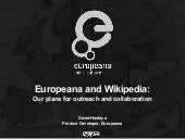 Europeana and Wikipedia - plans for collaboration
