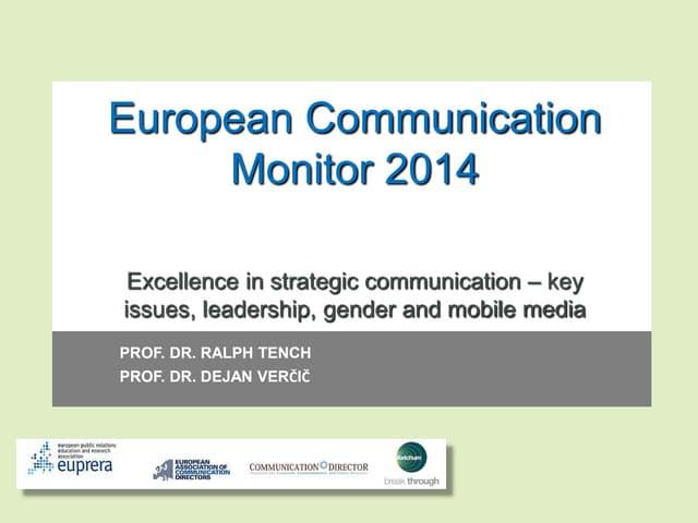 European communication monitor 2014