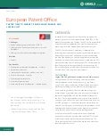 European Patent Office Case Study