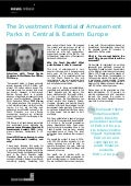The Investment Potential of Amusement Parks in Central & Eastern Europe