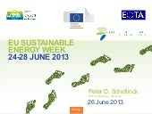 EU Sustainable Energy Week - How to support innovation to enter the market