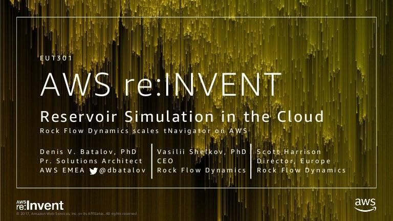 EUT301_Reservoir Simulation in the Cloud
