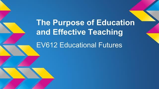 Ev612   education futures - scheduled task 1