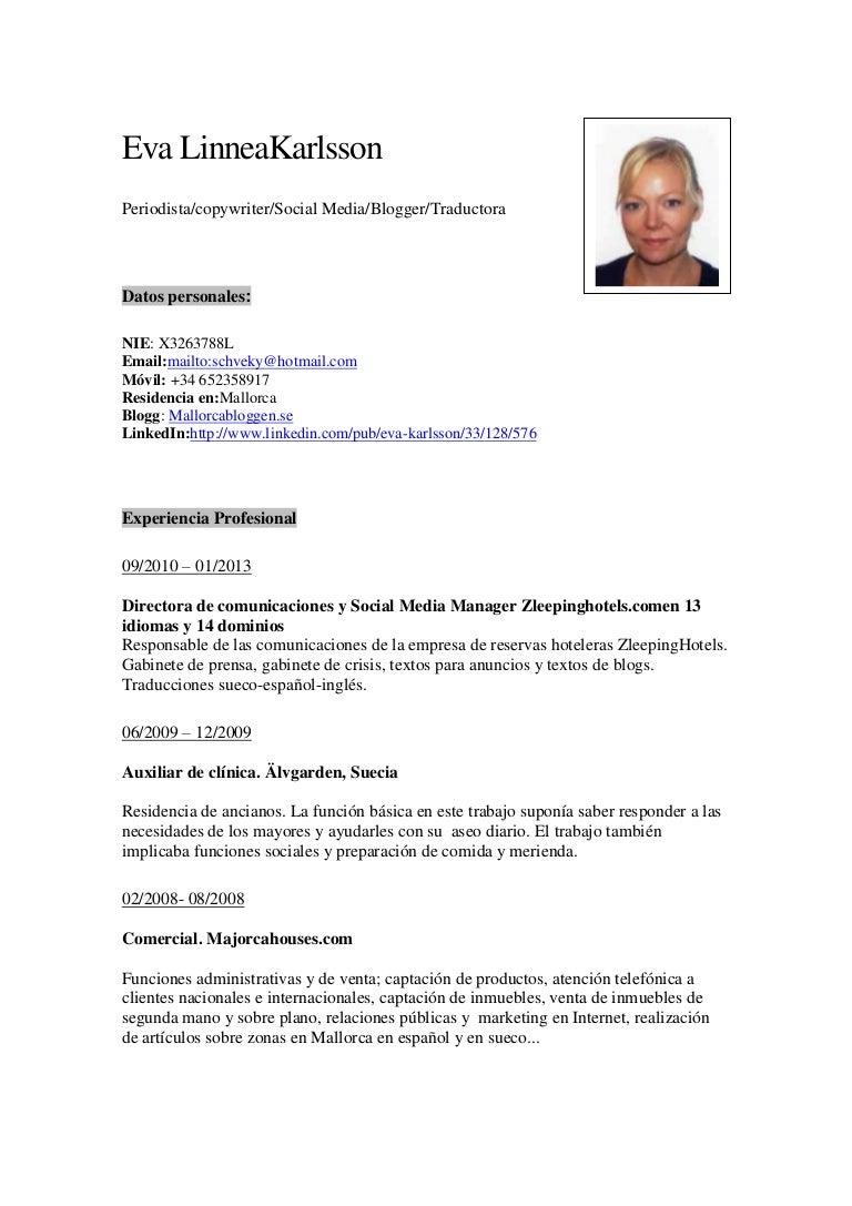 Bonito Curriculum Vitae De Marketing En Línea Motivo - Ejemplo De ...