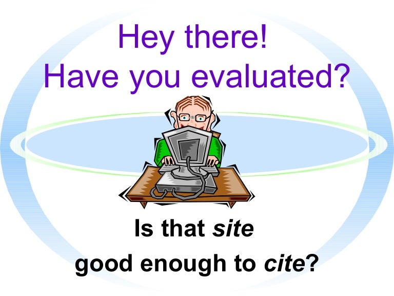 evaluation websites