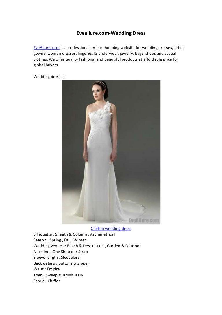 Eveallure.com wedding dress