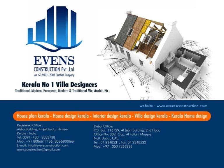 House planHouse designKerala Home designVilla and Interior design