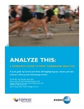 A Nonprofit's Guide to Event Fundraising Analytics