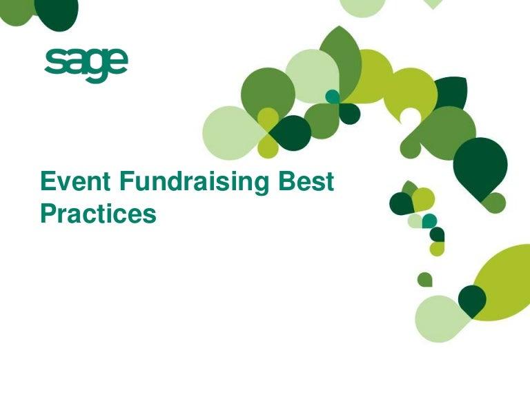 event fundraising best practices